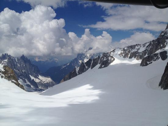 Vista panoramica funivia skyway foto di auberge de la for Auberge de la maison tripadvisor