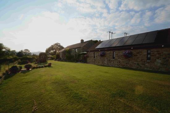 Round Meadow Barn: The garden