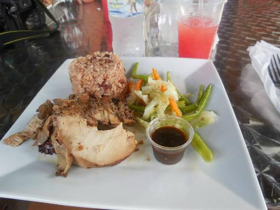 Jerk chicken - Picture of Grand Bahia Principe Jamaica, Runaway Bay ...