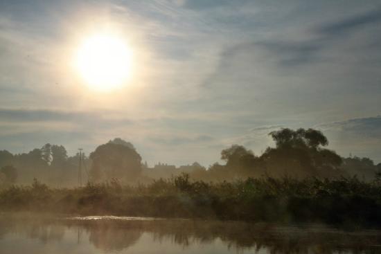 Suraz, Polen: Poranek nad Narwią