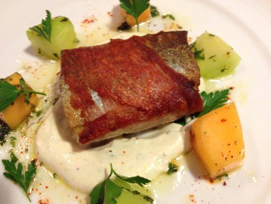 Trout, Smithfield Ham, Dungeness Crab, Melon