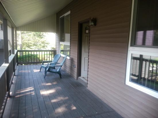 Depuy Townhouses : Porch to our unit