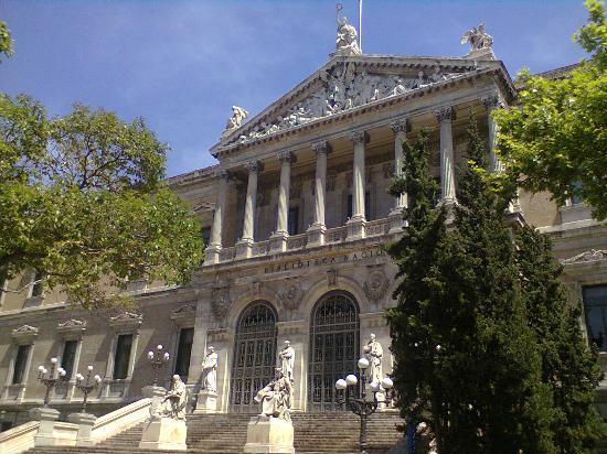 Library - マドリード、スペイン...