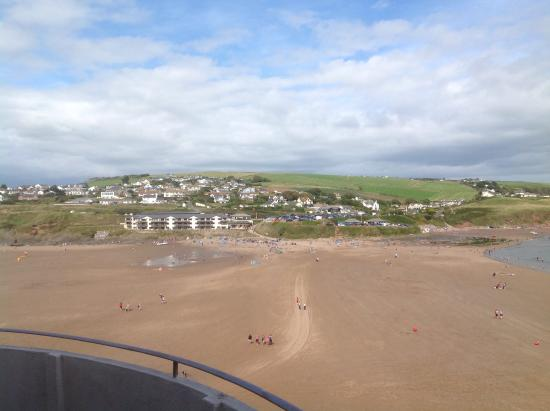 Burgh Island Hotel: The Cunard room view