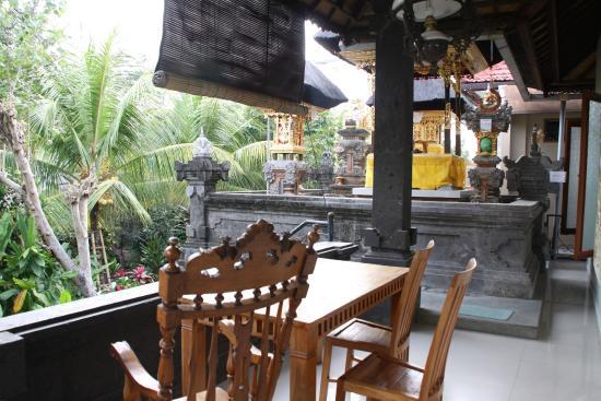 Ubud Dream : Terraza