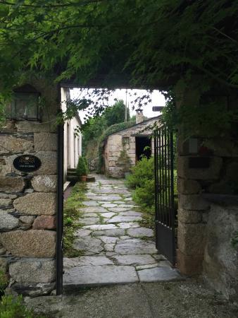 HR Palacio de Prelo: Entrada a l'Hotel Rural Palacio de Prelo