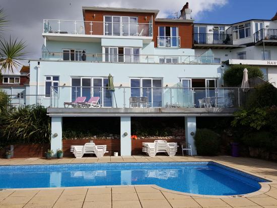 Goodrington Lodge Luxury Apartments: Apartment 3 balcony