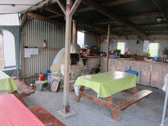 Purecamping: shared kitchen