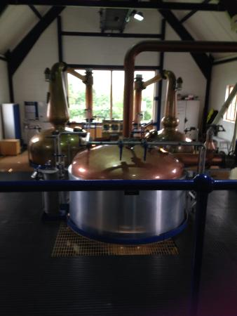 East Harling, UK: The distillery