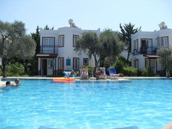 Tosunoglu Apart Otel: The pool area