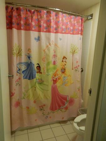 Fairfield Inn By Marriott Anaheim Resort Themed Shower Curtain