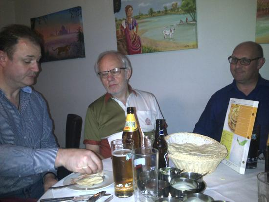 Spice Club Solihull.  We had 7 seated at this table!