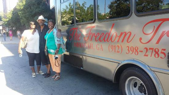 The freedom trail tour motor bus picture of black Freedom motors reviews