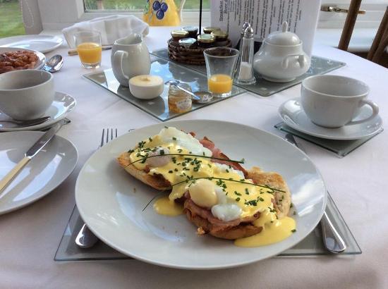Talybont, UK: My breakfast