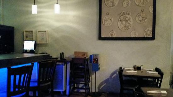 O'Stromboli: Dining area