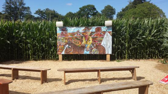 Siblu Villages - Domaine de Litteau : Maize Maze near Bayeux
