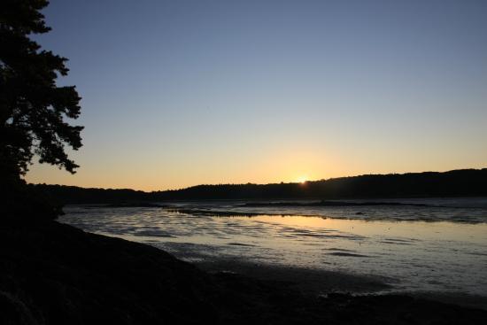 Sagadahoc Bay Campground: Sunrise