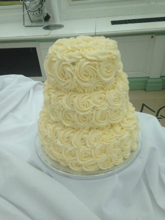 The Crosby Tea Rooms: Vegan Coconut Wedding Cake