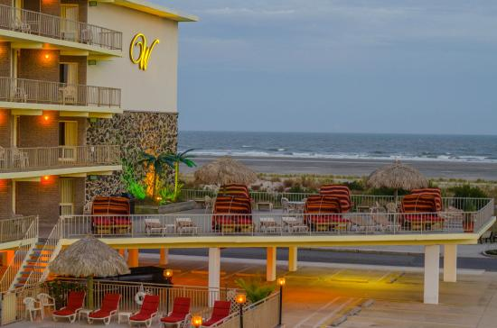 Waikiki Oceanfront Inn: Located on the beautiful oceanfront in WIldwood Crest