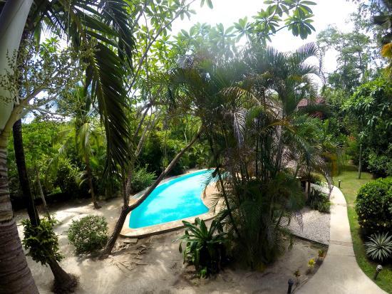 Hotel Cantarana: views from the restaurant