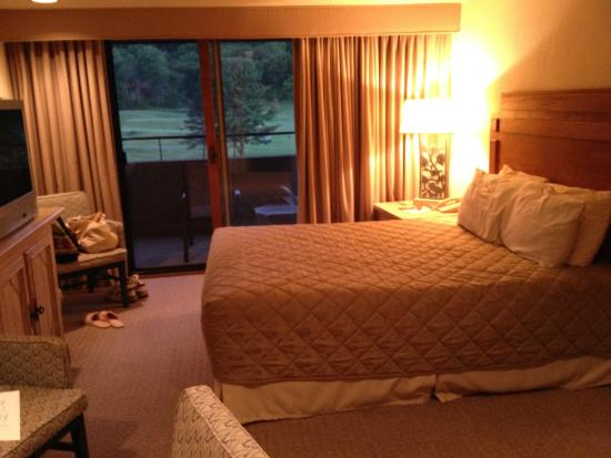 The House on the Rock Resort: one of our bedrooms