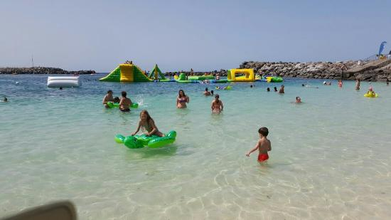 Playa de Amadores in Gran Canaria seawater swimming pool and paradise for children