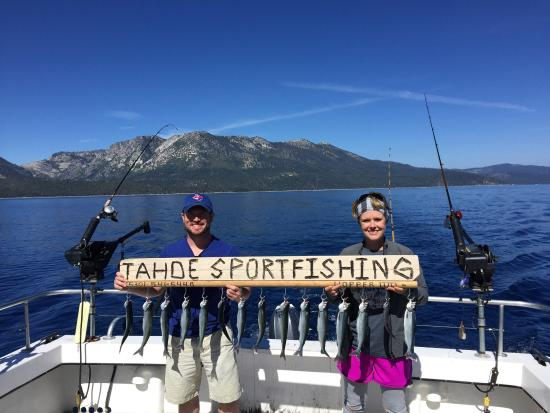 Tahoe sport fishing picture of tahoe sport fishing for Tahoe sport fishing