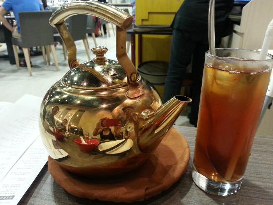Crystal Jade Dining In: tea pot
