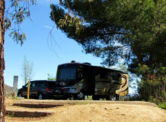 Our campsite - Picture of Dixon Lake, Escondido - TripAdvisor