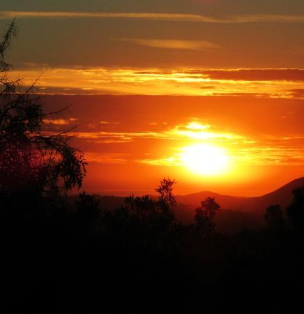 Sunrise on Dixon Lake