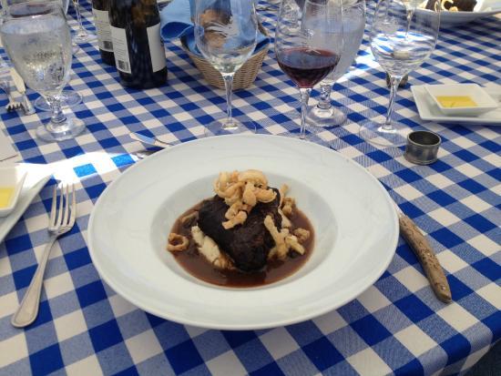 Smith & Hook Winery: Braised Short Rib, VIP Lunch
