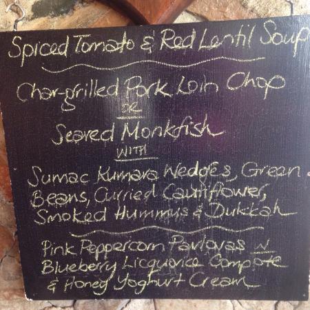 Lake Ohau Lodge : Excellent food.