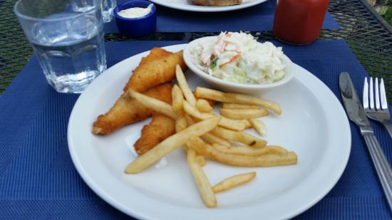 Baileys Harbor, WI: Part of Perch Filet Lunch