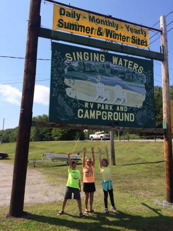 Singing Waters Campground: Sad to leave
