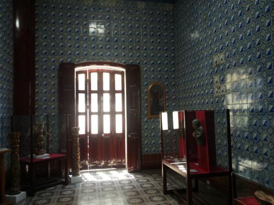 Stanza con azulejos alle pareti picture of museo de for Casa de azulejos