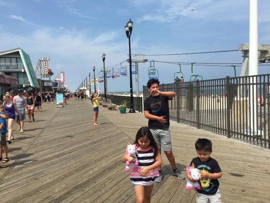 Costa de New Jersey, Nueva Jersey: Jersey Shore Boardwalk
