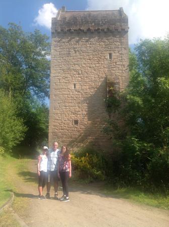 Braidwood, UK: Outside tower