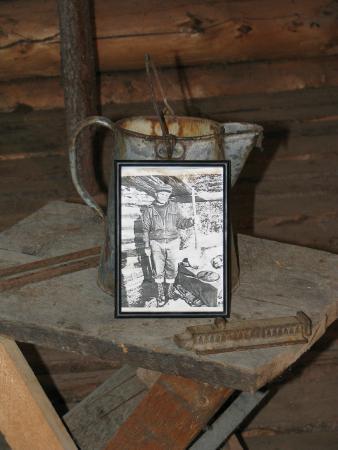 Jack London Museum: Personal photo of Jack London on display