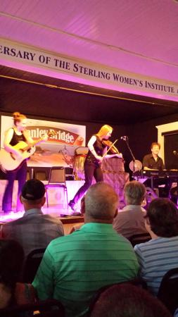Stanley Bridge Hall: Awesome show August 17th, 2015. A must see in PEI.