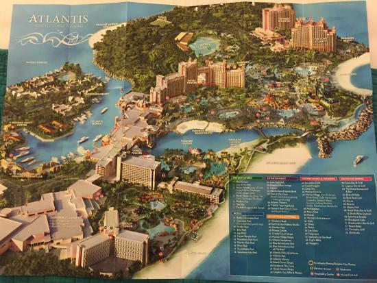 The Beach At Atlantis Autograph Collection Map Of