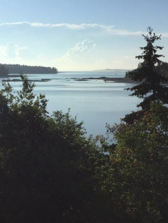 Deer Isle Village: Early morning to Sunset