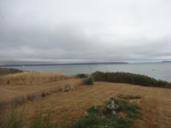 Inn at Barnum Point: view of the sound from the grounds