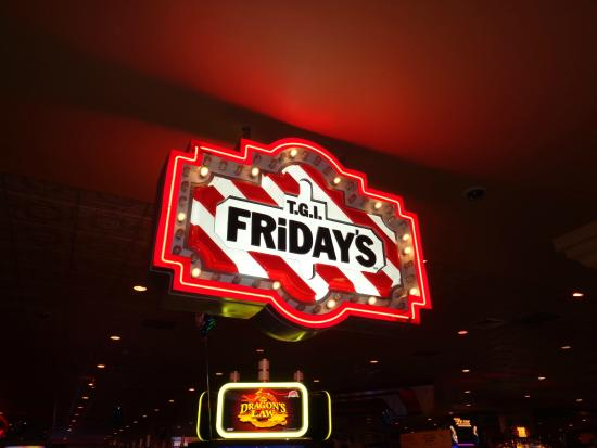 TGI Fridays : Sign