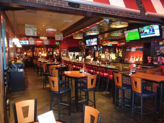 TGI Fridays : Bar area