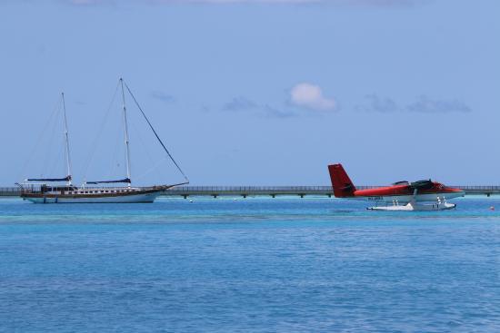 Rangali raani sail boat picture of conrad maldives for Conrad maldives rangali