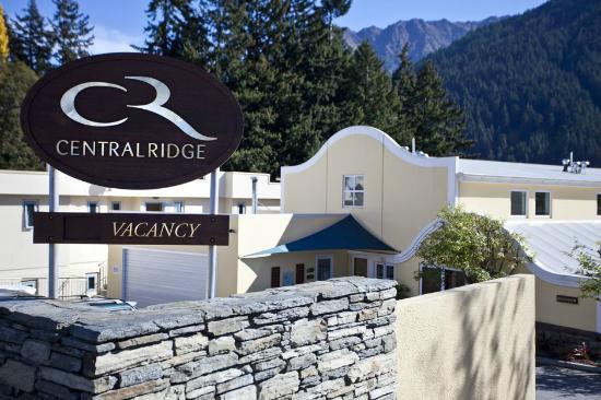 Central Ridge Boutique Hotel: Hotel Entrance