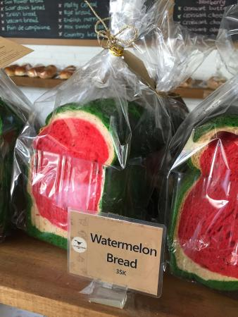 Watermelon Bread Picture Of Livingstone Cafe Bakery Kerobokan Kelod Tripadvisor