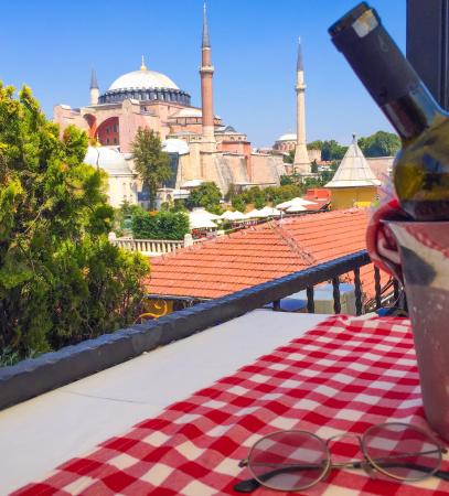 Amazing food and atmosphere picture of turkart terrace for Terrace 33 menu