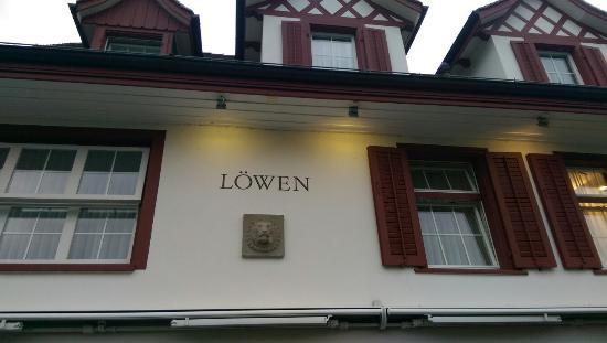 Hotel Restaurant Lowen Dielsdorf : Aussenbereich