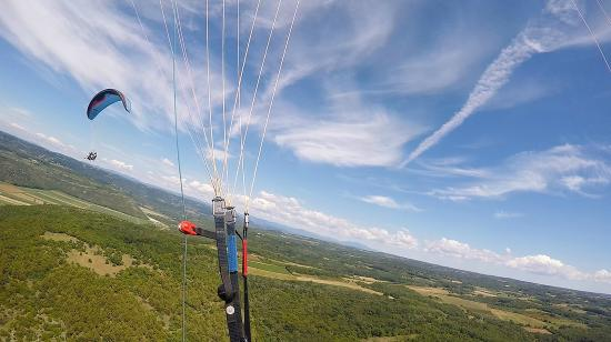 Brtonigla, Croatia: Tandem flight